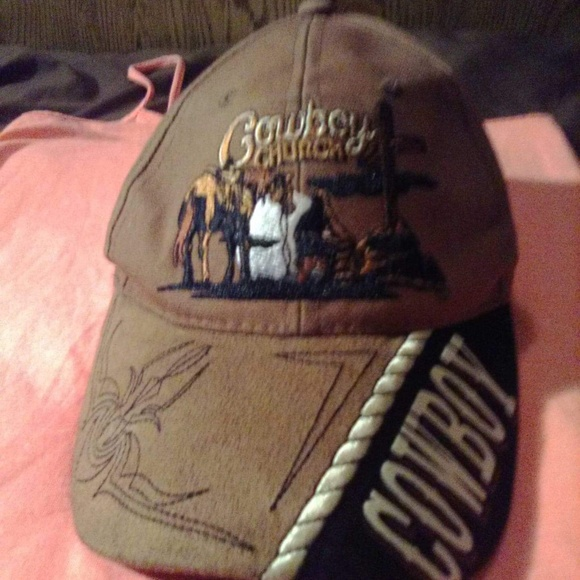 886ef136ef3 Cowboy church hat
